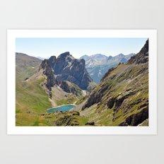 The Lost Lake Art Print