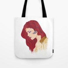 Glam Red Rock Tote Bag