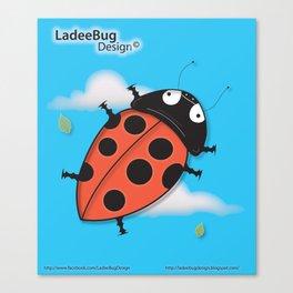 LadeeBug Design Canvas Print