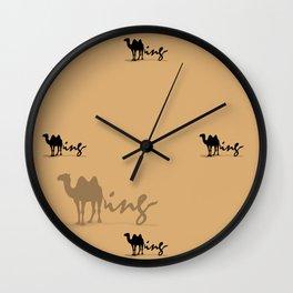 Putty Wall Clock