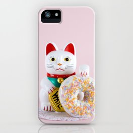 Maneki Donut iPhone Case