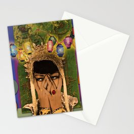 Should i stay or should i go Stationery Cards