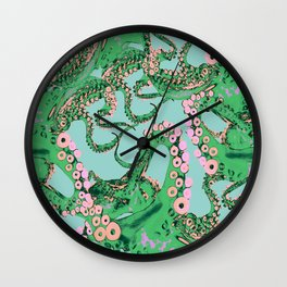Space Invaderz Wall Clock