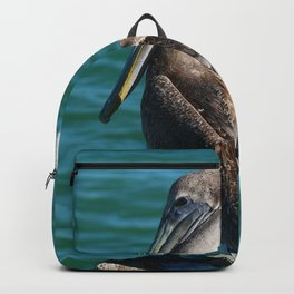 Pelican On A Pole Backpack