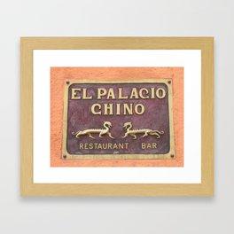 Wall Relief No. 4 in San Miguel de Allende, Mexico (2005) Framed Art Print