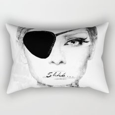 shhh... Rectangular Pillow