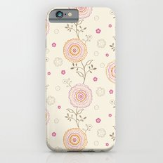Folky Flowers iPhone 6s Slim Case