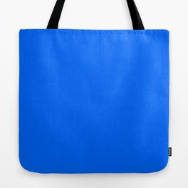 Unfinished ~ Bright Blue Tote Bag