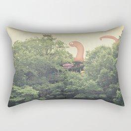 the clubhouse Rectangular Pillow