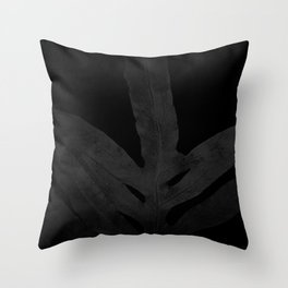 At Midnight Ferns Get no Love. Nightmare. Throw Pillow