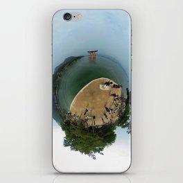Miyajima island and torii on the water Japan in 360 iPhone Skin
