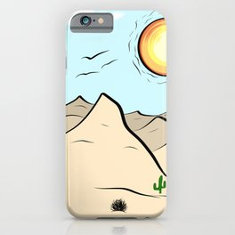 The Hot Desert iPhone Case