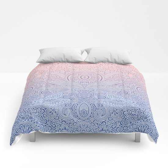 Delicate Pattern Comforters