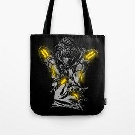 Cyborg Hero Tote Bag