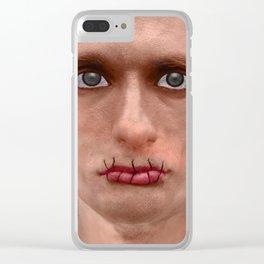 Je suis un artiste russe Clear iPhone Case