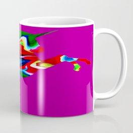 Watercolor unicorn-Purple Coffee Mug