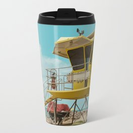 T7 Lifeguard Station Kapukaulua Beach Paia Maui Hawaii Travel Mug