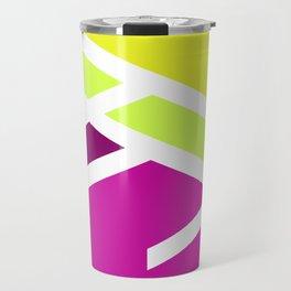 High colors - minimal Travel Mug