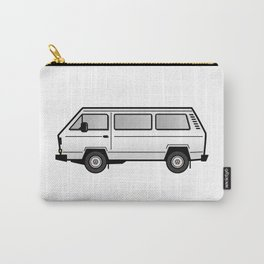 Volkswagen T3 Van White Carry-All Pouch