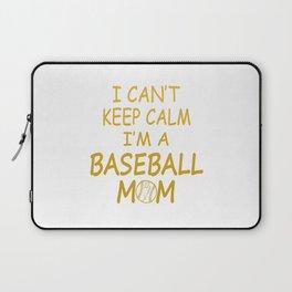 I'M A BASEBALL MOM Laptop Sleeve