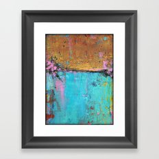 Montego Bay - Urban Abstract Painting Framed Art Print
