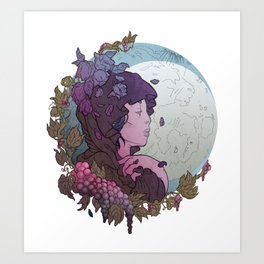 Trinity Goddess Series | Crone Art Print
