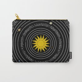 Solar System Sun & Planets Carry-All Pouch