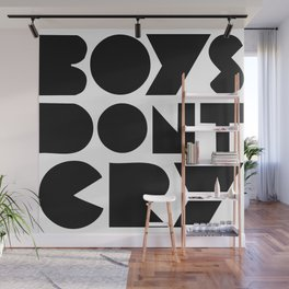 BOYS DON'T CRY Wall Mural