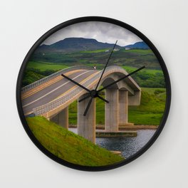 The Harry Blaney Bridge - Ireland (RR231) Wall Clock
