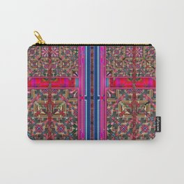 two door pattern Carry-All Pouch