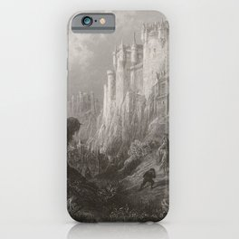 CAMELOT * Idylls of the King iPhone Case