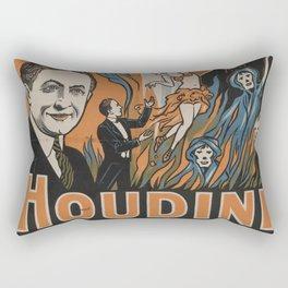 Houdini - vintage poster, spirits Rectangular Pillow