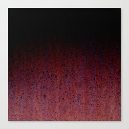 Red Brown Black Ombre Rust Metal Patina Canvas Print