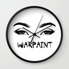 Warpaint Wall Clock