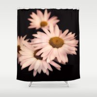 daisies Shower Curtains featuring Daisies by Christine Belanger