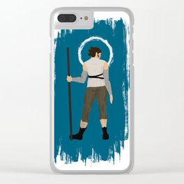 The Girl From Nowhere Clear iPhone Case