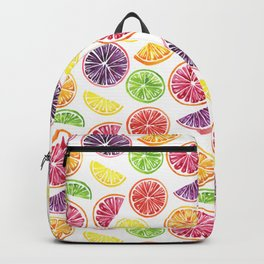 Citrus Wheels Backpack