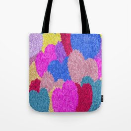 The Fragmented Hearts Tote Bag