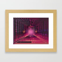 Enjoy the Labyrinth the Exit is an Illusion / 16-01-17 Framed Art Print