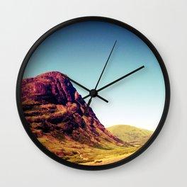 Glencoe, Scotland. Wall Clock
