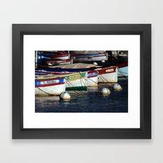 Boats pointu (6972) Framed Art Print