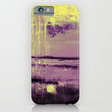 Yellow Color Patches Slim Case iPhone 6s