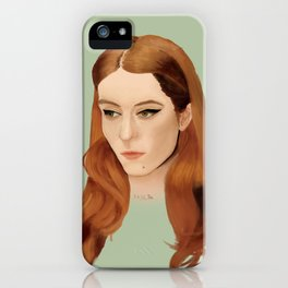 Florence by Greta iPhone Case