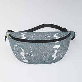 Walk This Wavy Fanny Pack