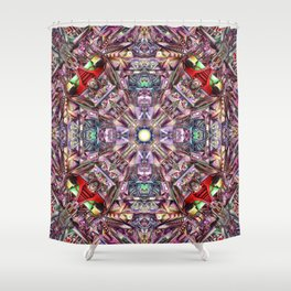 A Hydron Collider's Reactor Room Shower Curtain