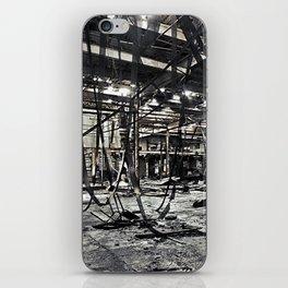 Abandon Battery Factory iPhone Skin