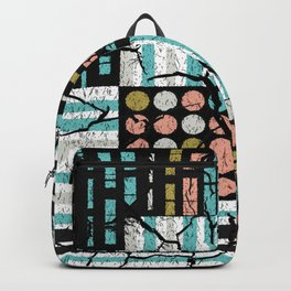 Distressed pattern Backpack