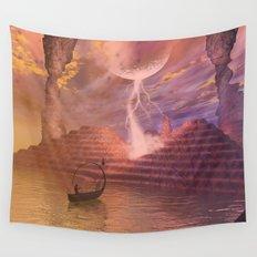 Fantasy landscape Wall Tapestry