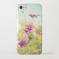 summer cosmos iPhone 7 Slim Case