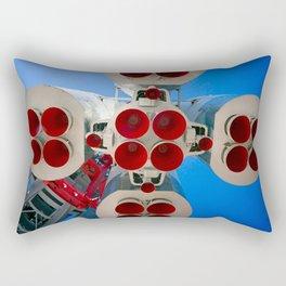 Vintage Spaceship Rocket-Motor Nozzles Rectangular Pillow